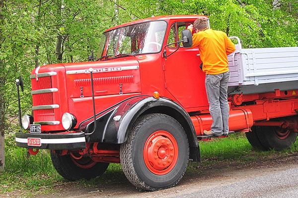 Kuorma-auton päivä | Vanhat Koneet