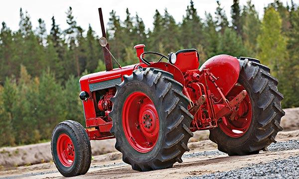 Valmet 565 II - Suomalainen synkrotraktori