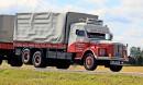 Scania-Vabis LS76 '63 - Ikivihreä punavalkoinen