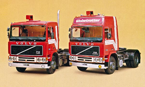 Kuorma-autot vuonna 1984