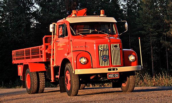 Scania L50 '72 - Pieni ja pippurinen