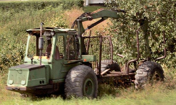 Vanhat Metsäkoneet