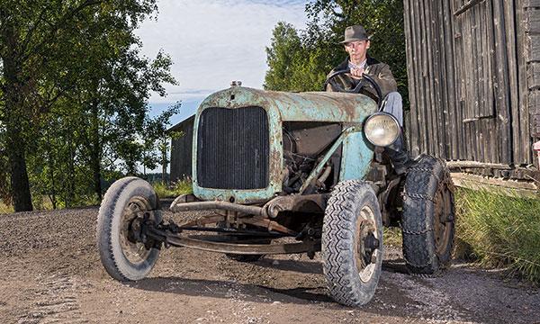 Ford AA -autotraktori 1928 – Niitä nummisten hispanoita
