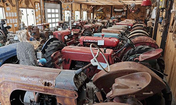 Smølan traktori- ja konemuseo, Norja – Ajan patinoimat