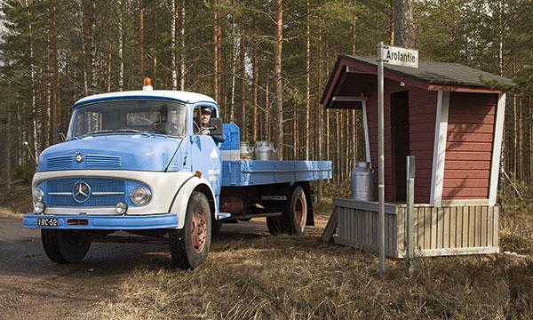 Mercedes-Benz 1113 1965 – Tuottajien maitoa