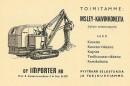 Lapiotöiden koneistaminen 50-luvun Suomessa