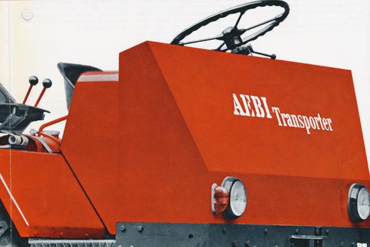 Vuoriviljelijän traktori – Aebi Transporter TP 20 1969