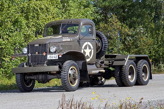 Kaksi ja puoli lukua historiaa – GMC CCKW 353 1942