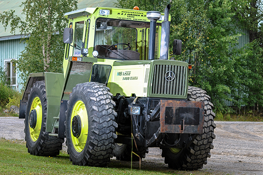 Traktoreiden Mersu – MB-trac 1400 Turbo 1989