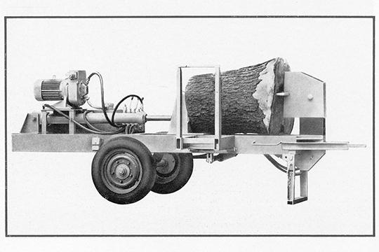 Metsätalouskoneita DDR:stä, osa 2 – Halkaisukone Marienberg