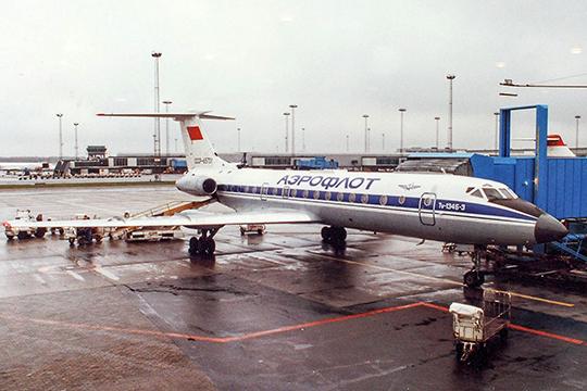 Idän viheltäjä – Tupolev Tu-134