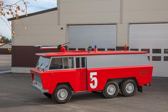 Palo 5 – Ginge-vaahtoauto