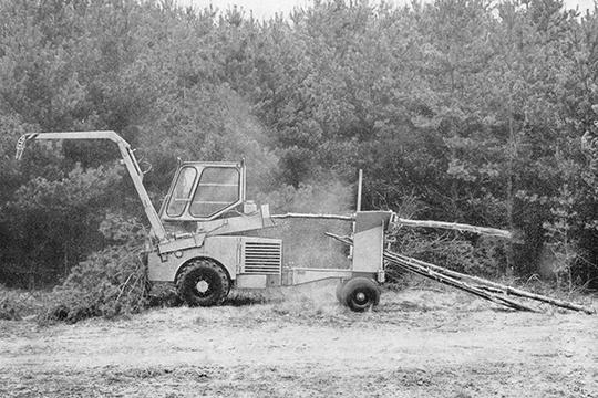 Itä-Saksan metsätyökoneet