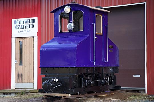 Finlaysonin pässi – AEG 799/1909 0-4-0 SM