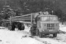 Itä-Saksan metsätyökoneet – kokorunkokuljetukset